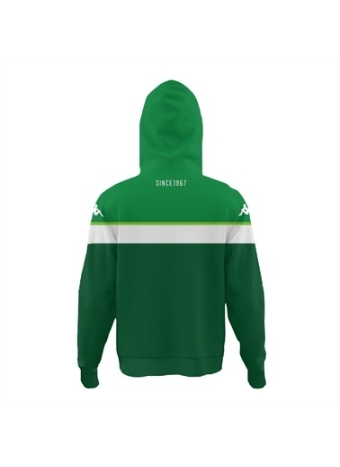 Kappa Kapüşonlu Sw-Shirt Teksas Yeşil